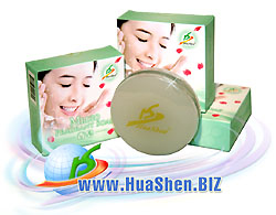 HuaShen Fragrant Soap, Cosmetic Soap, Toilet Soap